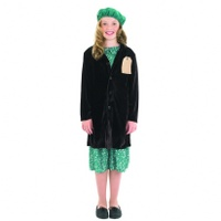 Evacuee Girl with Coat