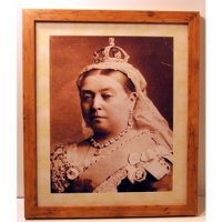 Queen Victoria Framed