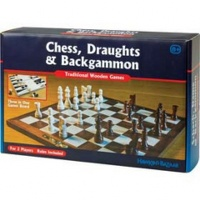 Chess, Draughts and Backgammon