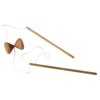 Traditional Wooden Diabolo
